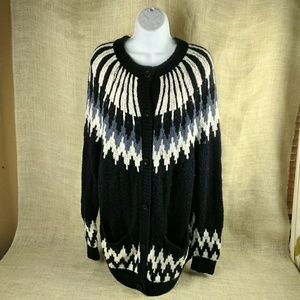 Abercrombie & Fitch Cozy Wool Blend Cardigan
